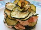 Torretta di zucchine e salmone blog il mio saper fare