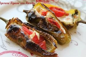Peperoni ripieni con ricotta ricetta Il Mio Saper Fare