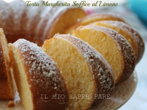 Torta Margherita soffice al limone