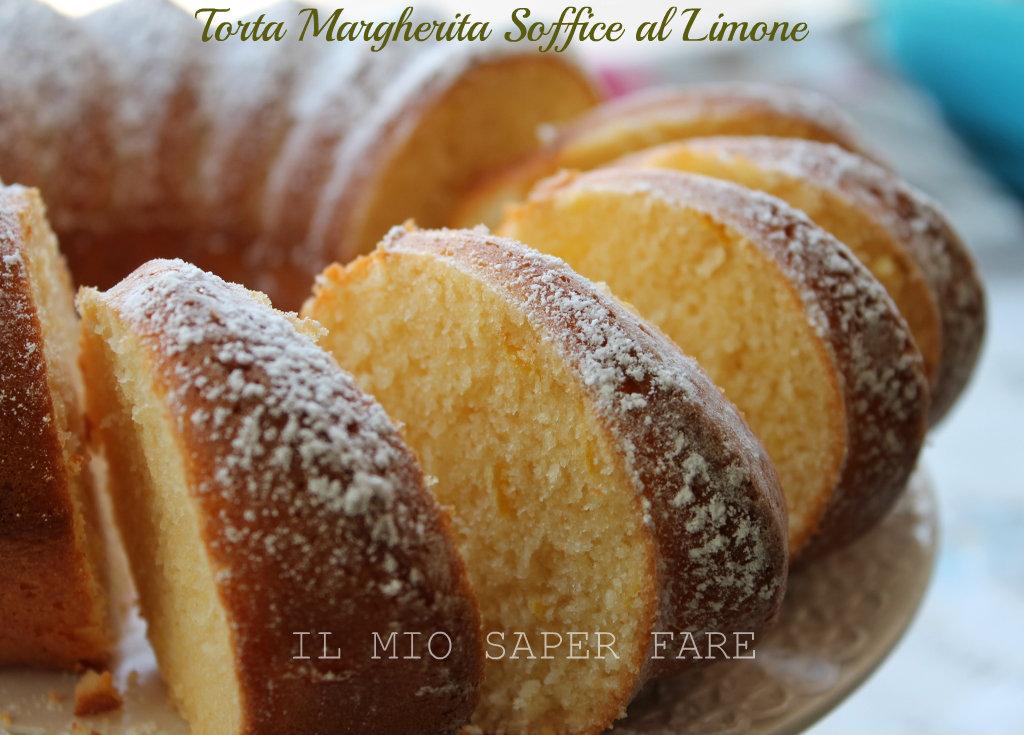 Torta Margherita soffice al limone blog il mio saper fare