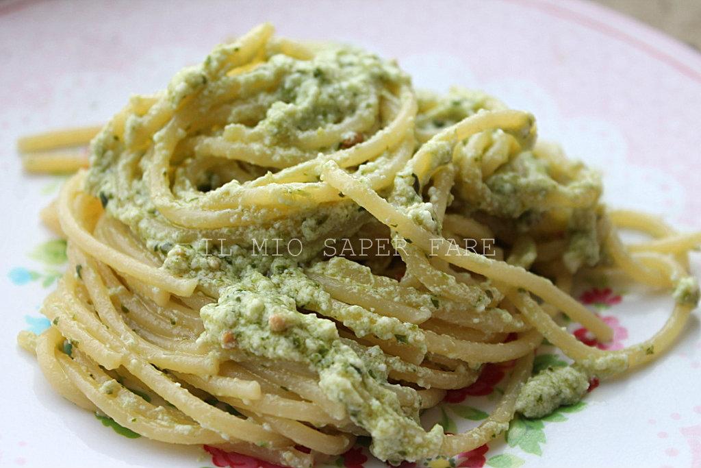 Pasta ricotta e pesto primo piatto veloce for Primi piatti veloci