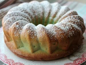 Ciambella Soffice Menta Cocco | torta vasetti