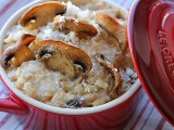 Risotto funghi ricotta e besciamella | riso integrale BLOG IL MIO SAPER FARE