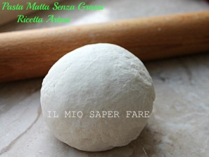 Pasta Matta Artusi ricetta senza grassi