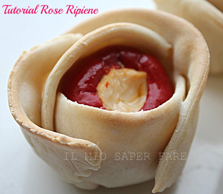 Tutorial Rose Ripiene | Pasta Matta il mio saper fare