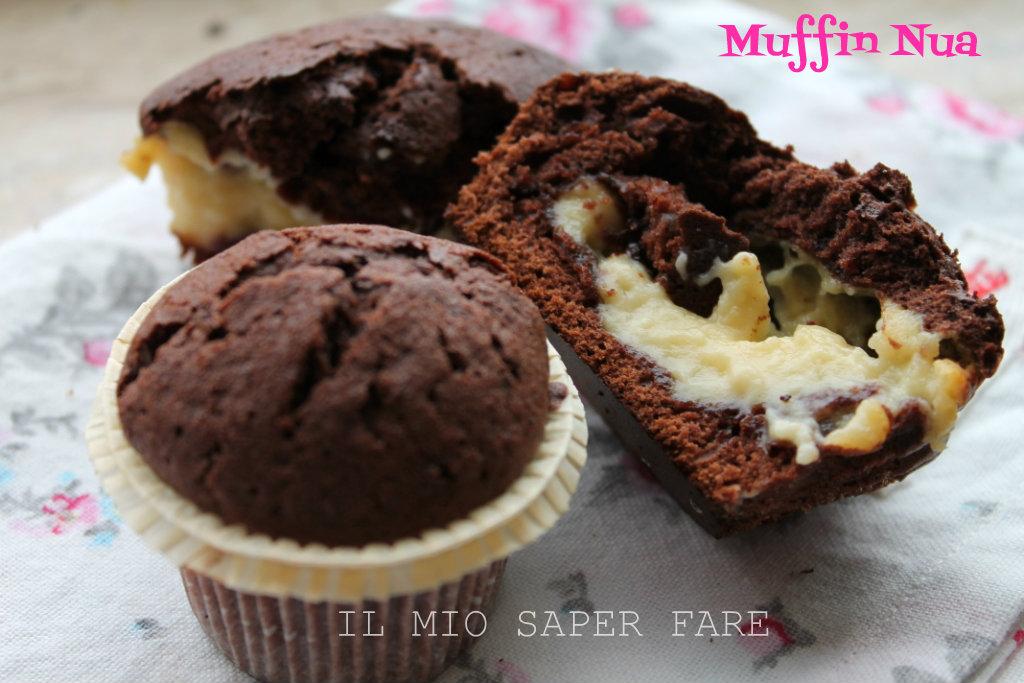 Muffin Nua : Muffin al Cioccolato Ripieni di Crema blog il mio saper fare
