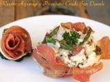 Risotto asparagi e prosciutto crudo San Daniele DOP blog il mio saper fare