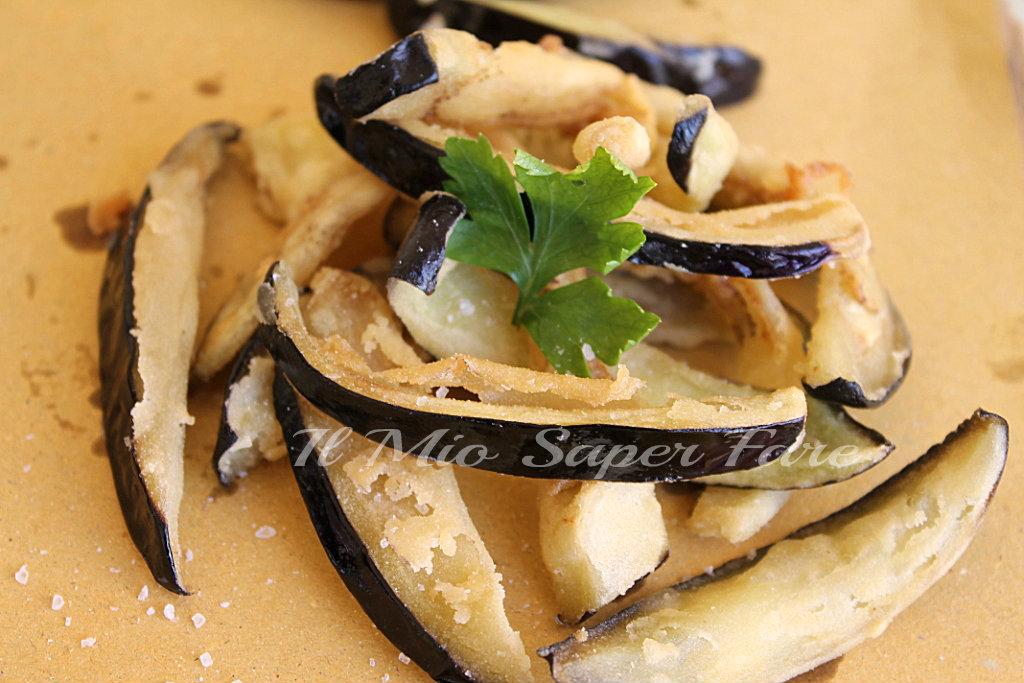 Bastoncini Melanzane Fritte |ricetta vegetariana blog il mio saper fare