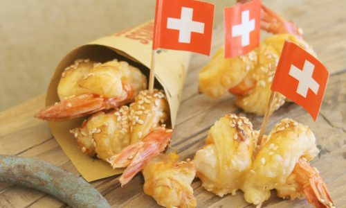 Street food: Bocconcini Sbrinz