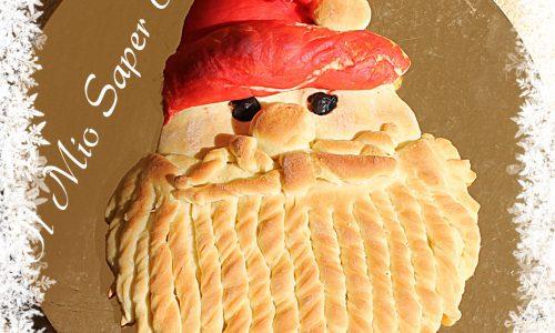 Pane Babbo Natale dolce o salato