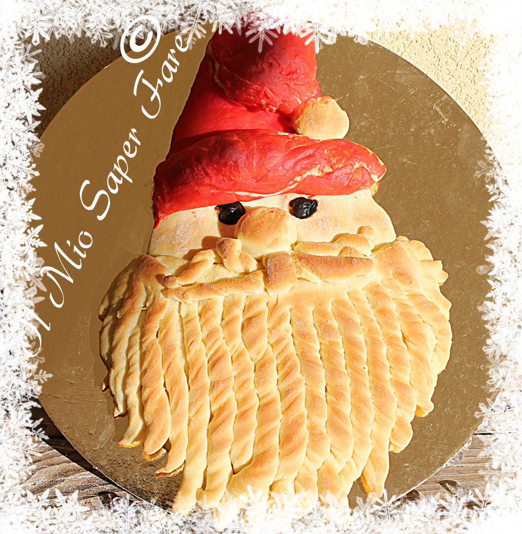 Pane Babbo Natale dolce o salato blog il mio saper fare