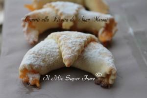 Cornetti Anna Moroni impasto base con ricotta
