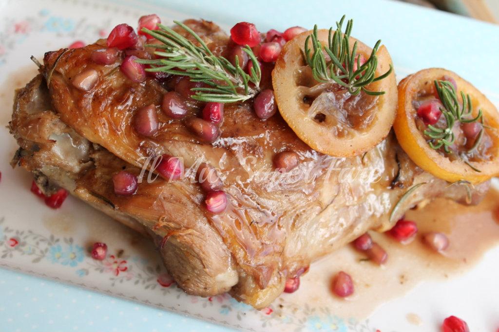 Secondo di carne per capodanno agnello al melograno e limone for Secondi di carne