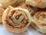 Girelle al Salmone e Pistacchi ricetta per antipasti blog il mio saper fare