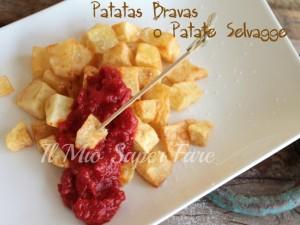 Patatas Bravas o Patate Selvagge ricetta facile