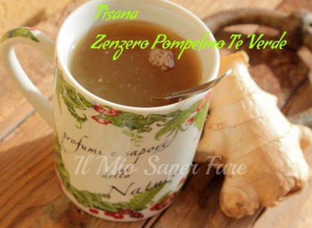 Tisana brucia grassi zenzero pompelmo tè verde