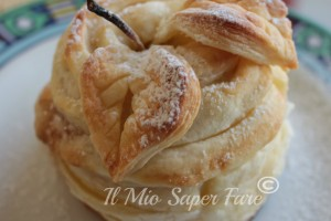 Mele ripiene di nutella in pasta sfoglia | Filled Apple