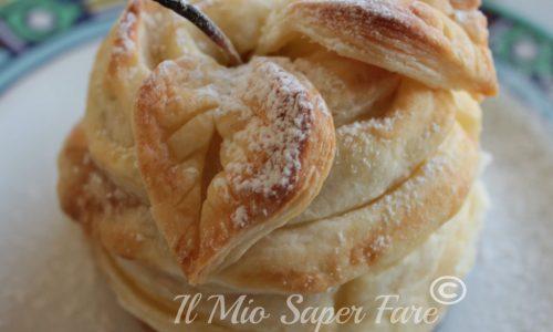 Mele ripiene di nutella in pasta sfoglia | Filled Apple