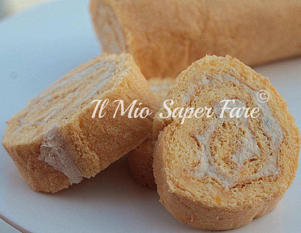 Rotolo Salato Farcito | Girelle mousse tonno e formaggio blog il mio saper fare