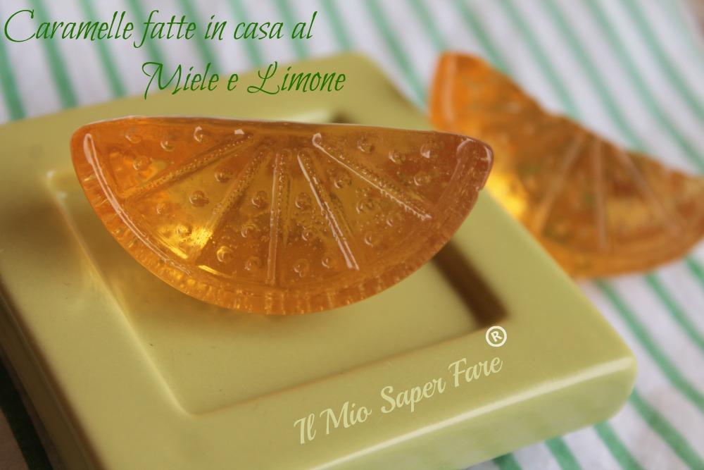 Caramelle fatte in casa miele e limone - Casa di caramelle ...