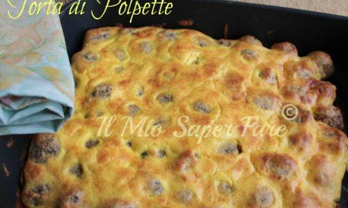 Torta di Polpette | ricetta sfiziosa per picnic