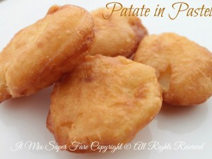 Patate in pastella fritte croccanti