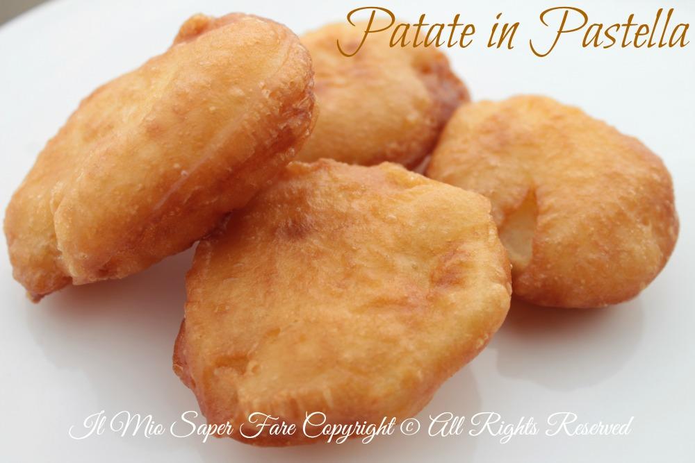 Patate in pastella fritte croccanti ricetta blog il mio saper fare