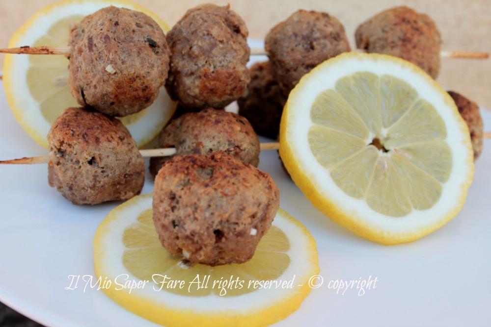 Polpette al limone cotte in forno ricetta blog il mio saper fare