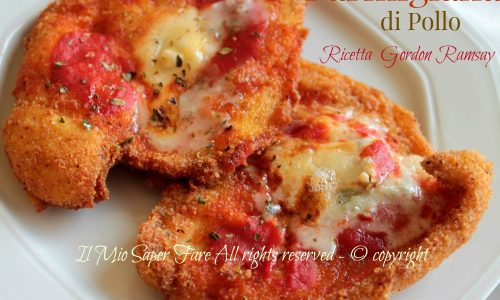Parmigiana di pollo ricetta Gordon Ramsay