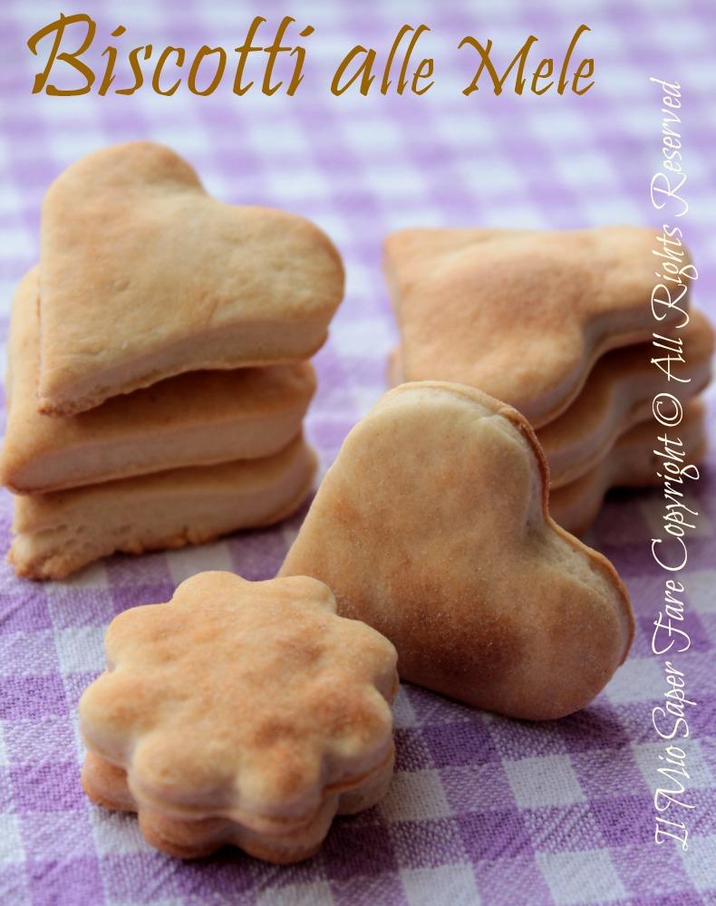 Senza Lievito Biscotti Biscotti Alle Mele Senza