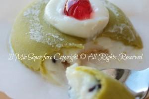 Cassatine siciliane di ricotta e pasta reale