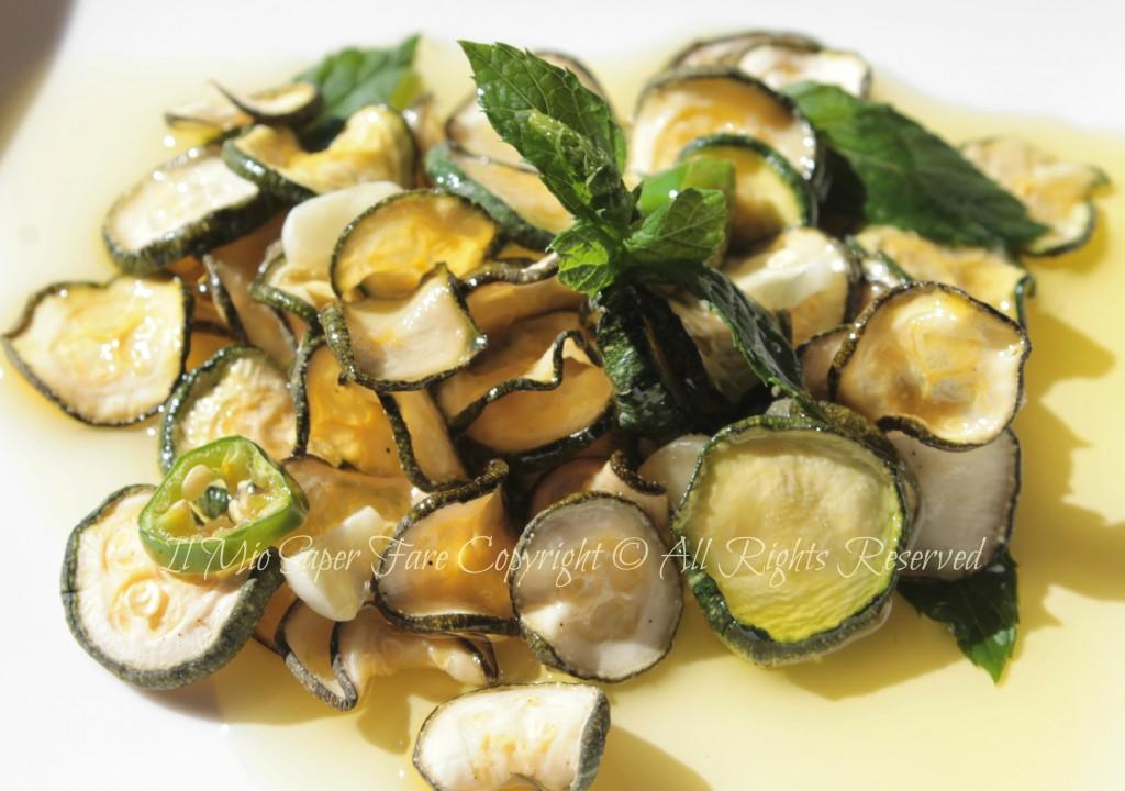 Zucchine sott'olio croccanti  blog il mio saper fare