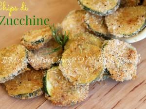 Chips di zucchine croccanti al forno | Zucchine sabbiose