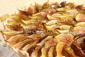 Crostata ricotta e fichi freschi | Ricette con fichi