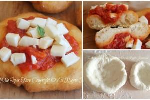 Pizzette montanara   Pizzette fritte