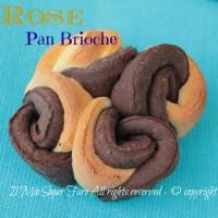 Rose di pan brioche bicolore Il Mio Saper Fare