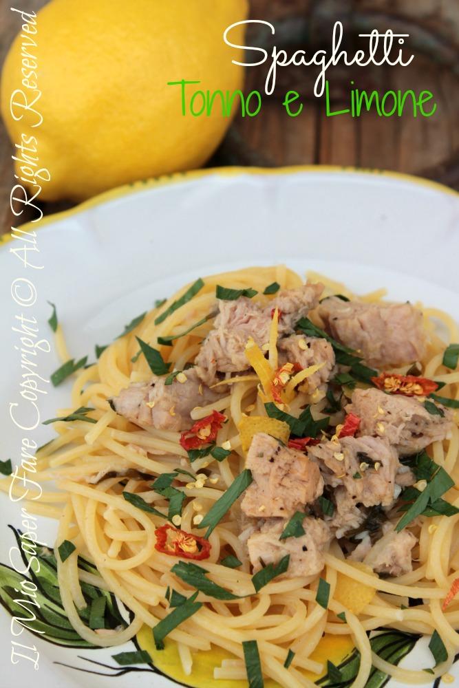 spaghetti tonno e limone primo piatto veloce On primo piatto veloce