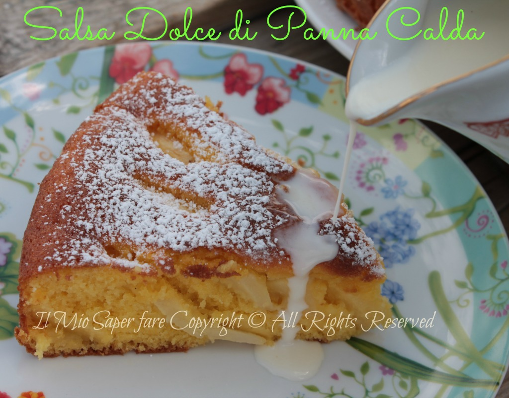 Panna calda salsa dolce per torte blog il mio saper fare