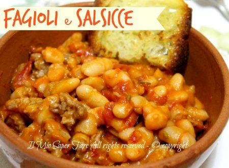 Fagioli e salsicce | Fagioli all'uccelletto con salsiccia