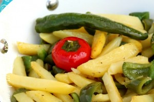 Peperoni e patate Food Blogger Day Crotone