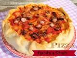 Pizza chiena a strati  cake pizza salata ricetta blog il mio saper far