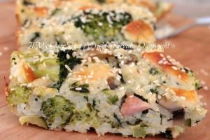 Timballo di riso alle verdure | Ricetta con broccoli