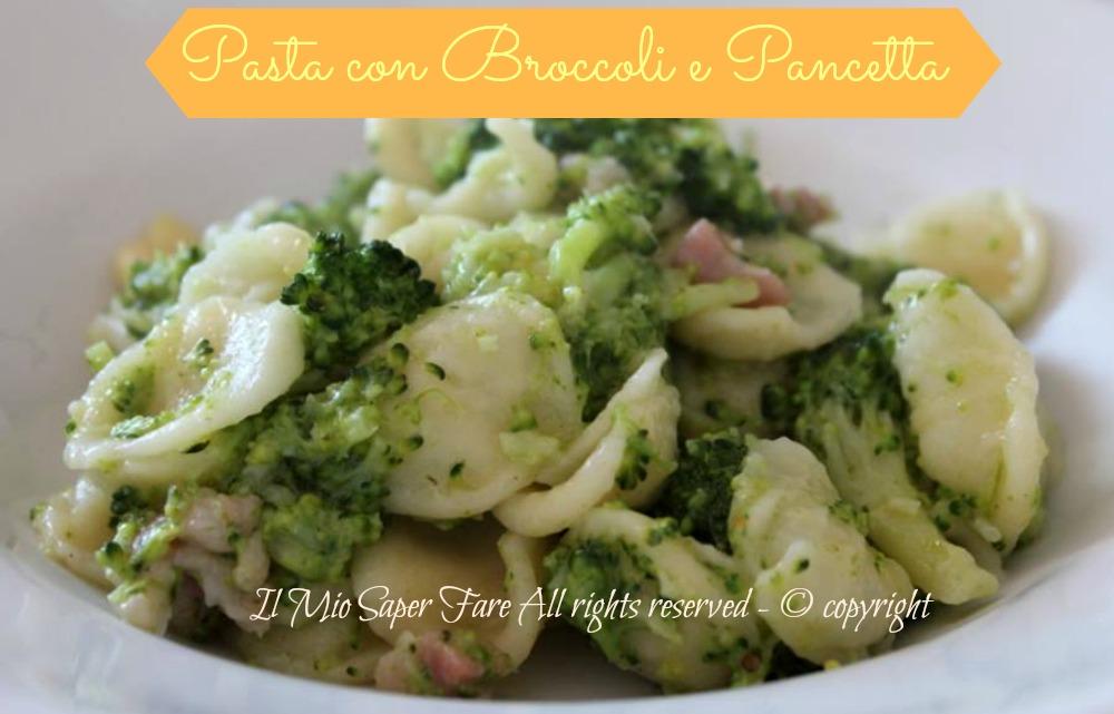 Ricetta pasta con broccoli calabresi
