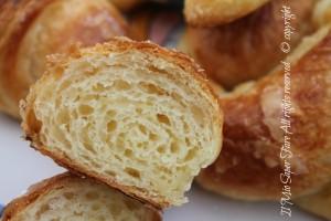 Cornetti sfogliati del bar | Come fare i croissant il mio saper fare