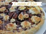 Crostata di mele e crema al cacao ricetta il mio saper fare