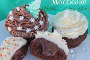 Mooncake con nutella e frosting al burro