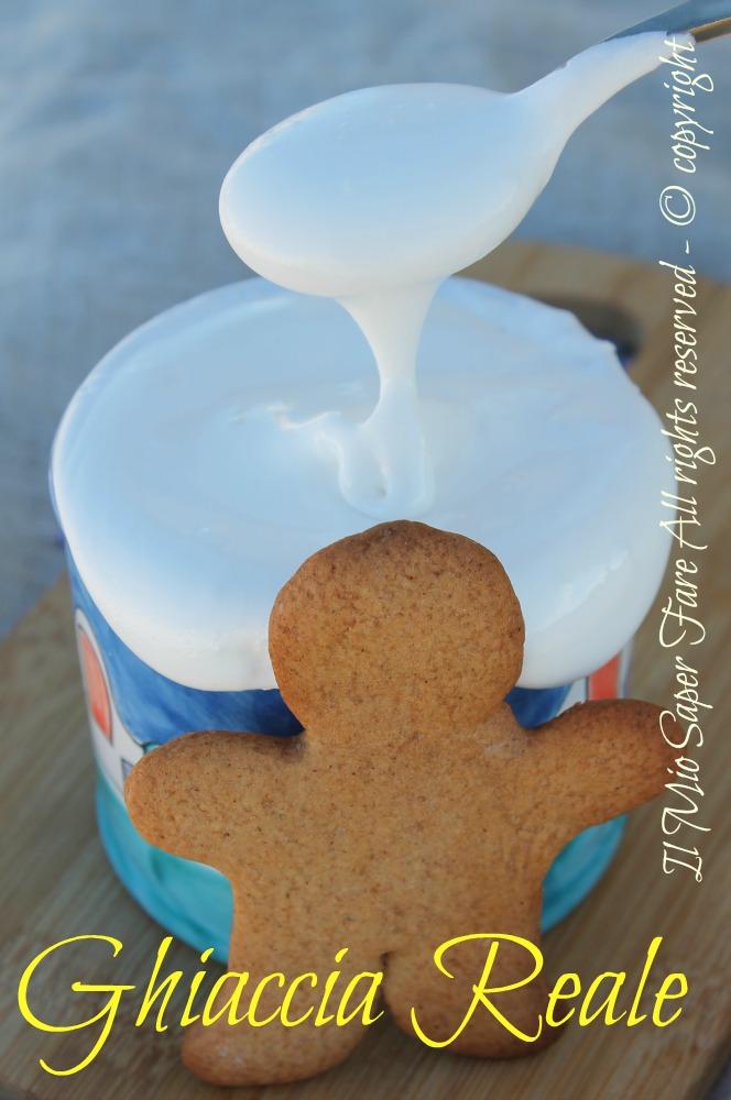 Ghiaccia reale per decorare i biscotti di Natale il mio saper fare