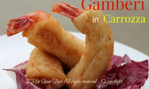 Ricetta gamberi in carrozza