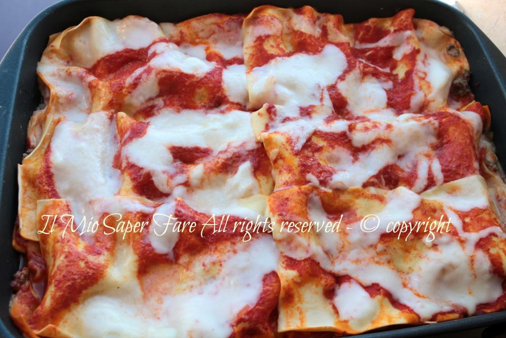 Lasagne al forno   Lasagna alla Bolognese blog il mio saper fare
