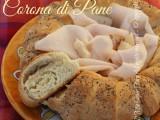 Corona di pane centrotavola ricetta il mio saper fare